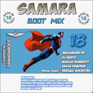 Samara Boot Mix 18 (2016)  BY DJ BERTO & Vasja Pumpkin