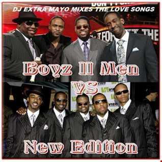 BOYZ II MEN VS. NEW EDITION THE LOVE SONGS