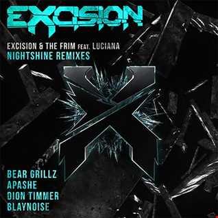 Khiflee - Excision & The Frim feat Luciana - Night Shine (Megamix)