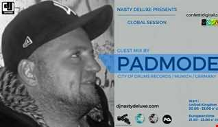 Global Session   Dj Nasty deluxe   Padmode   Confetti Digital UK   London