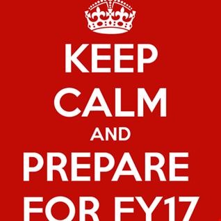 FY17 Sneak Peak ( Draft )