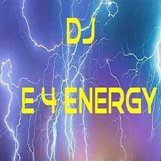 dj E 4 Energy - 128 bpm Oldskool Bass Vocal House Live Mix (April 2018)