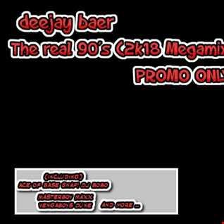 VA -  The real 90´s (2k18 Megamix by DJ Baer)