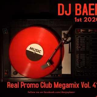 VA -  Real Promo Club Megamix Vol. 41 (1st 2020)( Mixed by DJ Baer)
