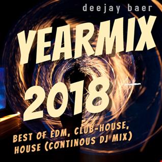 VA -   Promo Club Megamix Yearmix 2018 (Mixed by DJ Baer)