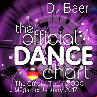 The Official Top 40 ODC Megamix January 2017 (Official German Dance Charts)