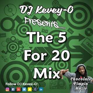 The Five for Twenty Mix 13 (Clean Hip-Hop + RnB 90's + Early 2000's)