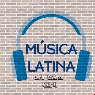 MUSICA LATINA CD-1 D,J DAM