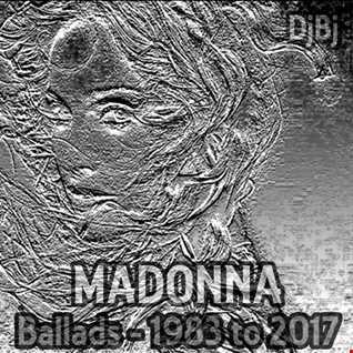 DjBj - Madonna Ballads 1983 to 2017
