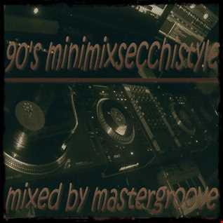 mastergroove minimix90secchistylevinylvol1