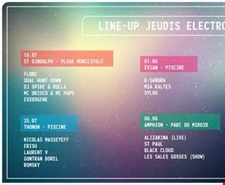 Les Jeudis Electro - Amphion France - 2019.08.08 - Part1