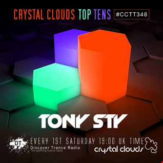 Crystal Clouds Top Tens 348 (mixed by Tony Sty)