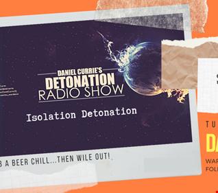 30.05.2020 Daniel Currie's Detonation Live
