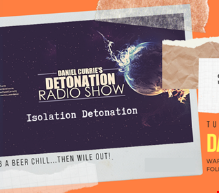 16.05.2020 Daniel Currie's Detonation Live   House to Trance