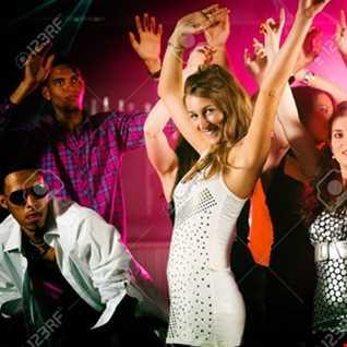 Latin dance but knock it hard.....hi