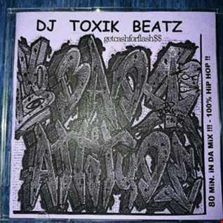 _Vinyl_Deejay Toxik Beatz   Bad Attitudes  Hip Hop Mix