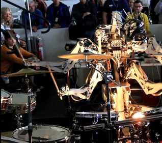 robot rock   BOYS LIKE PERCUSSION