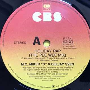 M.C. MIKER G & DEEJAY SVEN   HOLIDAY RAP   PEE WEE MIX
