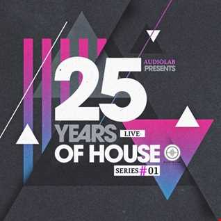 Audiolab   Present (25 Years Of House) Series  01 by Rural Jazz [Live Recorded]