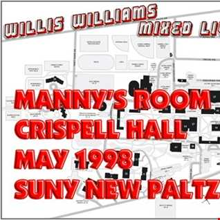 Mixed Live: Manny's Room - Crispell Hall - SUNY New Paltz - May 1998 (Converted From Audio Cassette)