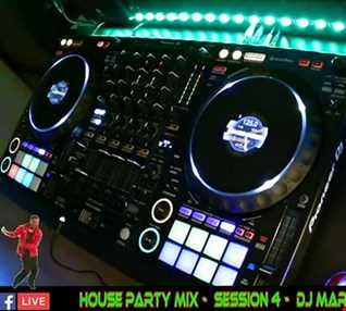 HOUSE PARTY MIX - SESSION 4 - FACEBOOK LIVE - MIXED BY DJ MARQUES (DAVID MARQUES   PINTO)