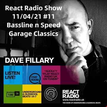 React Radio Show 11 04 21 (bassline n Speed Garage)
