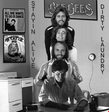 Stayin Alive vs Dirty Laundry (Bee Gees   Don Henley)