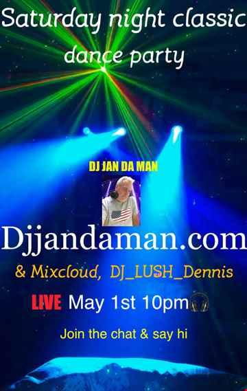 Saturday Night Classic Dance Party 5 1 21
