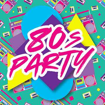 DJ Paul With 80's Lets Party 2021
