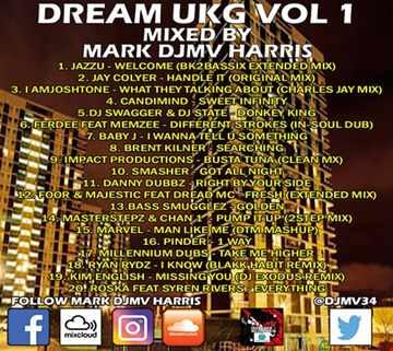 Mark DjMv Harris   Dream Ukg Vol 1