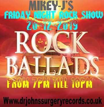 friday rock show rock ballads  20 12 19