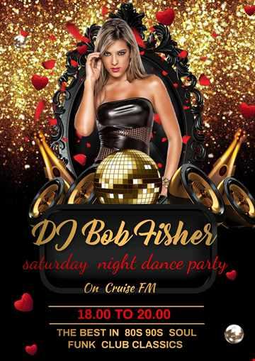 DJ Bob Fisher Dance Floor Classic Cruise FM  26 / 6 / 2021