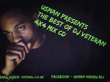 Usman Present's The Best Of DJ Veteran 4x4 Mix CD