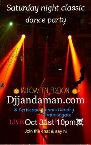 Saturday Night Classic Dance Party Halloween Edition 10 31 20