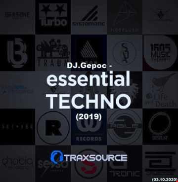 .DJ.Gepoc   Essential Techno  2019 (Traxsource) (03.10.2020)