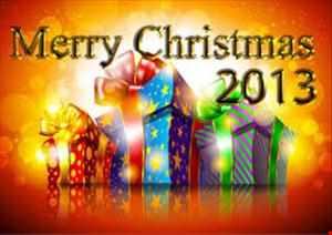 MERRY CHRISTMAS EVERYONE 2013