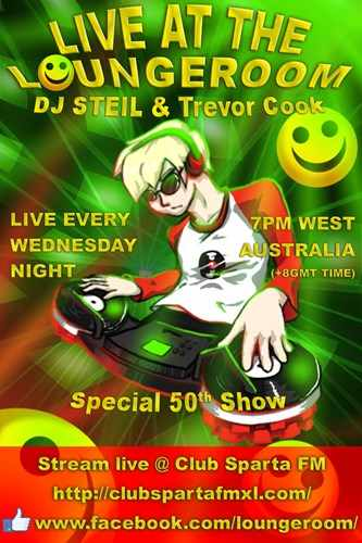 DJ Steil & Trevor Cook - Live At The Loungeroom 2020-01-29 Classic House & Rave