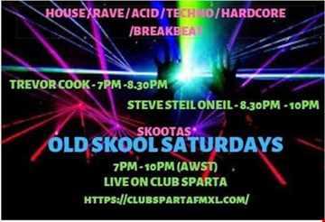Old School Saturdays with DJ Skoota 17 Feb 2019