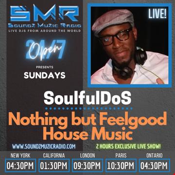 Soundz Muzic Radio Nothing But Feel Good House Music April 4, 2021