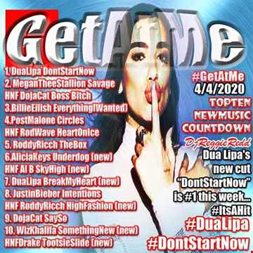 GetAtMeTopTen CountDown ft dua lipa dont start now