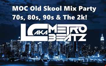 MOC Old Skool Mix Party (In The Raw!) (Aired On MOCRadio.com 11-3-18)