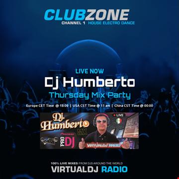 Dj Humberto   Thursday Mix Party (2016 04 14 @ 04PM GMT)