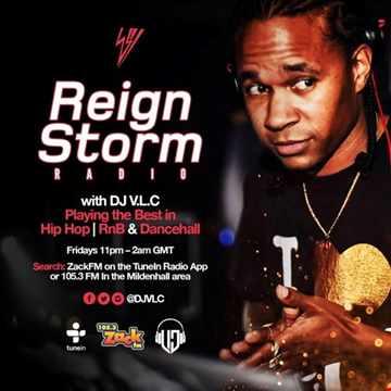 #ReignStormRadio on #ZackFM 4th August 2017
